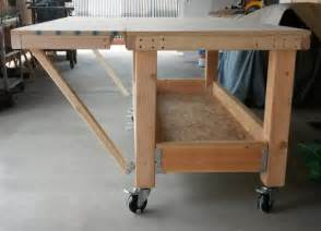 workshop bench design best 25 garage workbench ideas on