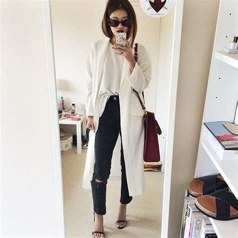 Daster Dress Midi Monocrome 30 best ideas about duster coat on minimal