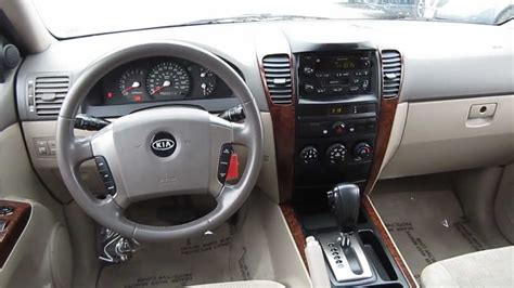 2004 Kia Interior 2004 Kia Sorento Ex 4wd Green Stock L268273 Interior