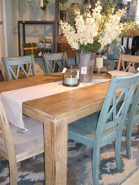 farmhouse table with fabric chairs country cottage dining set in painted oak 5ft table 6