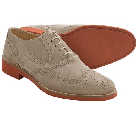 oxford suede shoes dean wingtip oxford shoes suede for save 77
