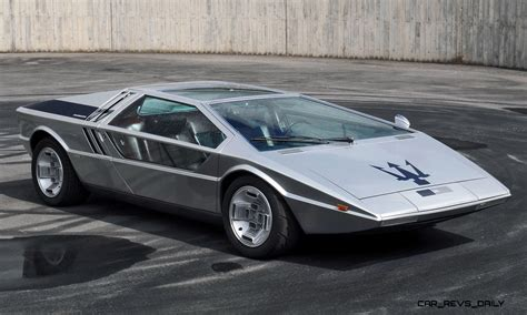 maserati hypercar concept flashback 1972 maserati boomerang was production
