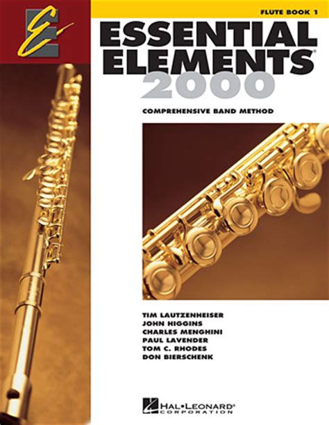 essential elements to include in essential elements 2000 book 1 for flute book only