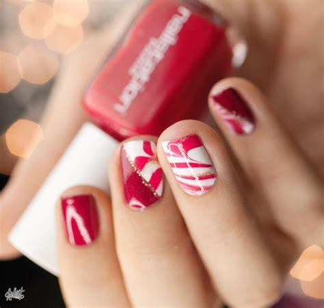 imagenes de uñas rojas con plateado lindas decora 231 245 es de unhas para a 233 poca do natal