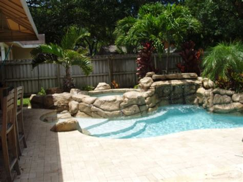 Backyards Spring And Pools On Pinterest Pools Small Backyards