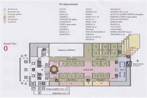 musee d orsay floor plan mus 233 e d orsay 1 rue de la l 233 gion d honneur 7e