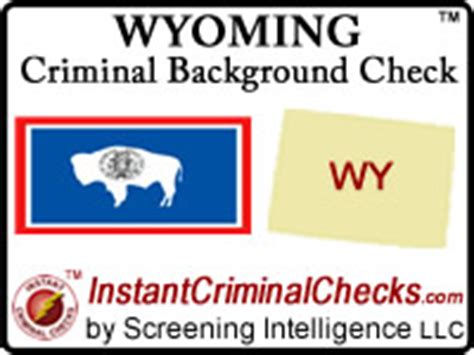Wyoming Background Check Wyoming Criminal Background Checks For Pre Employment