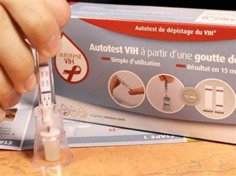 test di francese aids e hiv primo test fai da te da domani anche in italia