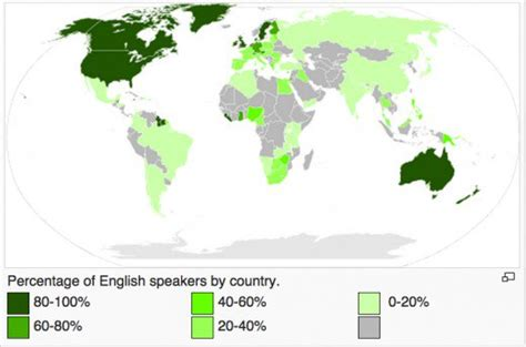 biography of english language the importance of the english language in today s world