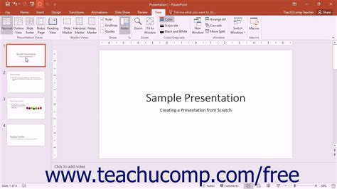 tutorial for powerpoint 2016 powerpoint 2016 tutorial the presentation view buttons