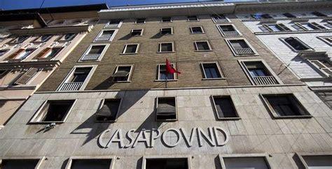 sede casapound roma casapound la sede nazionale di roma sar 224 sgomberata