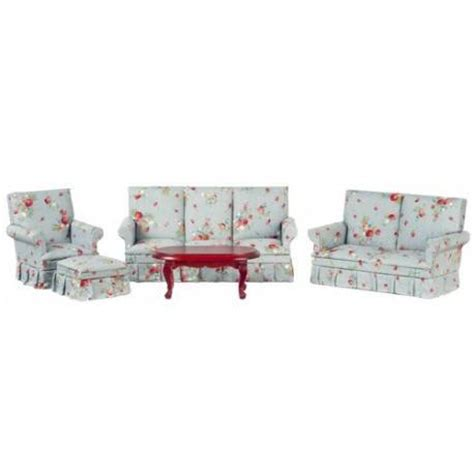 dollhouse living room furniture mahogany living room set 5pc dollhouse living room sets
