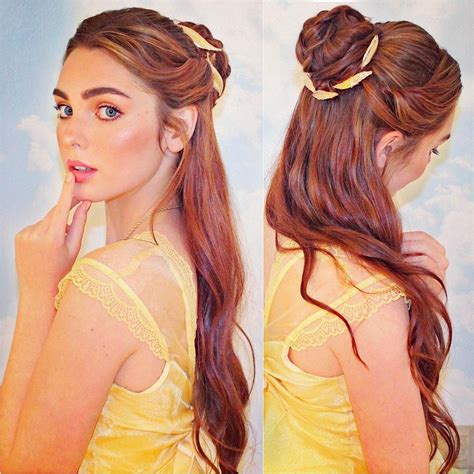 Belle Hairstyle | 3 708 likes 44 comments jackie wyers jackiewyers on