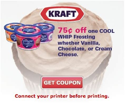 cool whip coupons cool whip frosting coupon makes it just 1 53 at walmart