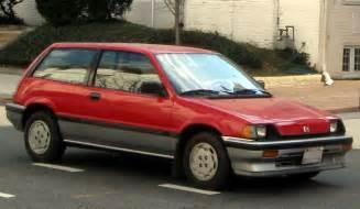 Honda Civic 1985 1985 Honda Civic Hatchback Car Interior Design