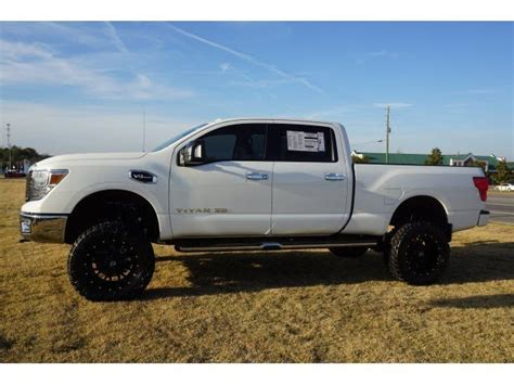 2017 Titan Lifted by New 2017 Nissan Titan Xd 4wd W 6 Inch Lift Special Wheels