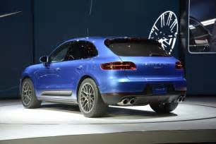 Porsche Macan 2015 2015 Porsche Macan Live Photos And From L A Auto Show
