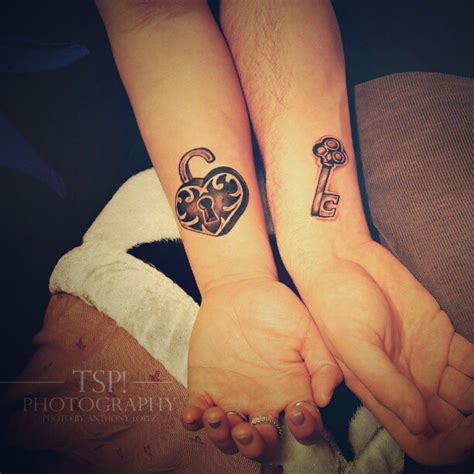 love lock and key tattoo designs for couples tattoobite com