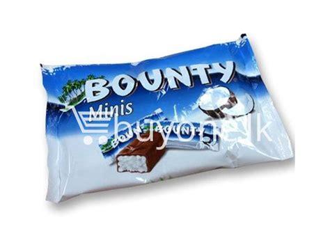 Bounty Minis Chocolate 227gr From best deal minis bounty chocolate bar 8x pack buyone lk