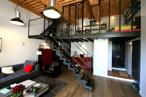 lyon home design studio r 233 novation appartement croix rousse lyon mezzanine acier