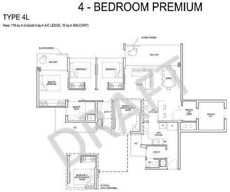 park residences floor plan grandeur park residences floorplan 4 bedroom premium