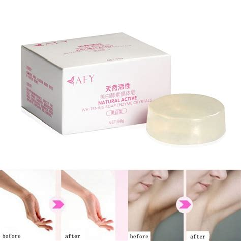 Allora Skin Lightening Soap 1pc active enzyme bath shower soap skin whitening soap in soap from health