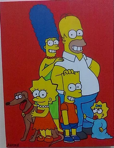 simpsons painting simpsons painting 2012 by andrecamilo20 on deviantart