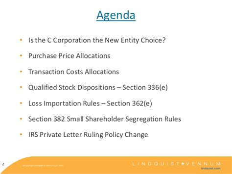 Irs Code Section 382 by Kaiser Corp Tax Update 2013