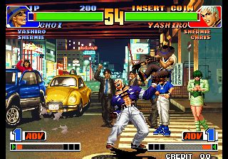 the king of fighters '98: the slugfest / king of fighters