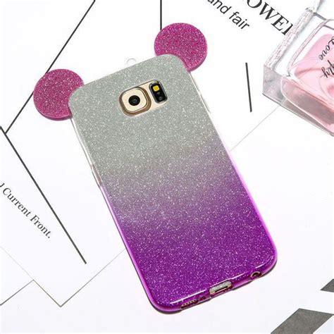 Samsung A 7 2016 50minnie Mickey 3d Softcase Silicon Disney A72016 3d mickey minnie mouse ears phone cases for samsung galaxy s7 s6 edge s5 a5 j5 c ebay