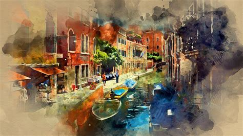 free painting guide watercolor photoshop tutorial