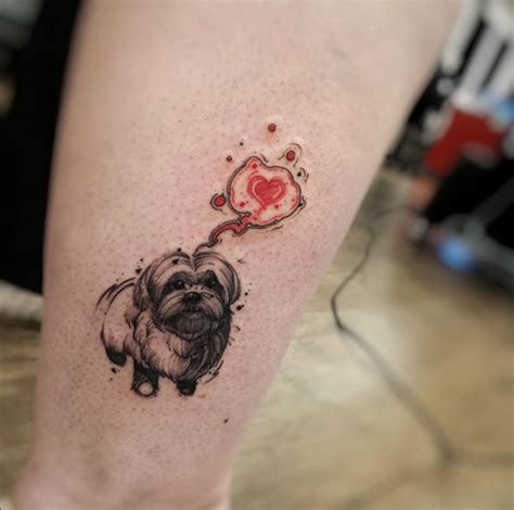 cute dog tattoos 40 amazing tattoos for tattooblend