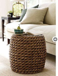 ottoman with hidden twin bed samar ottoman chunky weave for a rustic home interior