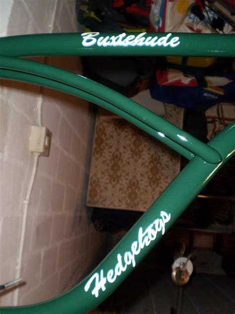 Lackieren Wieviel Grad by Re Buxtehude Hedgehogs Custom Bike B O N A N Z A R A D