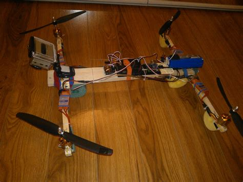 diy drone h frame quad for 10 weight 1kg with all components
