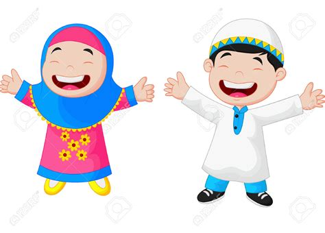 Musim Anak muslim child vector carian muslim