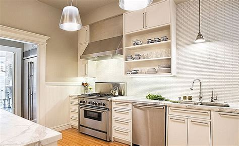 Kitchen Tile Backsplash Ideas With White Cabinets by White Backsplash Tile Photos Amp Ideas Backsplash Com