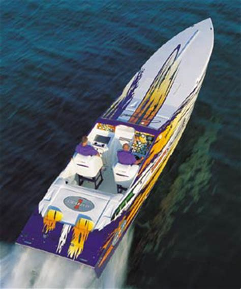cigarette boat mph cigarette twin step 42 tiger performance test boats