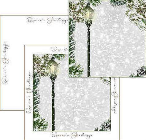 Backing Paper For Card - snowy backing paper