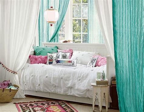 pottery barn teen drapes day bed cool curtains and pottery on pinterest