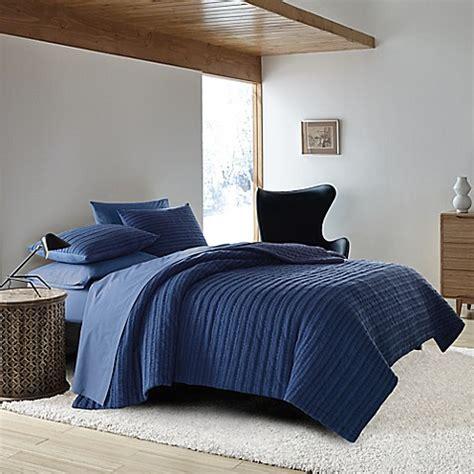 ellen degeneres quilt ed ellen degeneres horizon lines quilt in navy bed bath