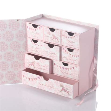 Baby Keepsake Box With Drawers by Baby Keepsake Box With Drawers The Gift Experience