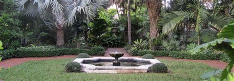 four arts garden palm mediterranean in miami the cultural landscape foundation