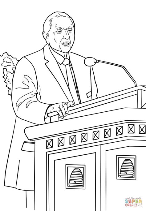 general conference coloring pages s monson speaks at the general conference coloring