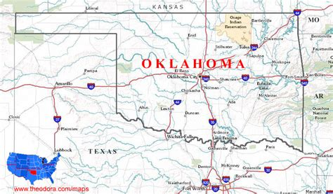 ou map us oklahoma