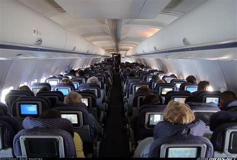 United Airlines 757 Interior by Boeing 757 224 Continental Airlines Aviation Photo