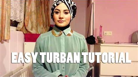 tutorial layering turban style easy turban style hijab tutorial youtube