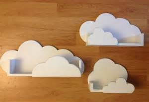Cloud Bookshelves Cloud Shelves For Classroom Or Nursery Future Baby Maybe