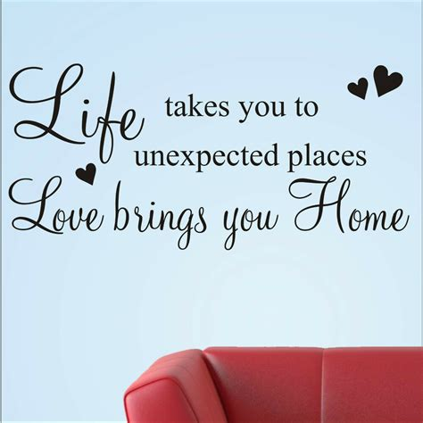 words for the wall home decor wall stickers quotes family home words