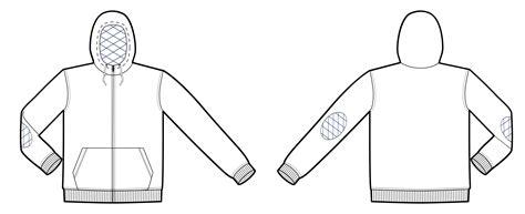 zip hoodie design template clipart hoodie template